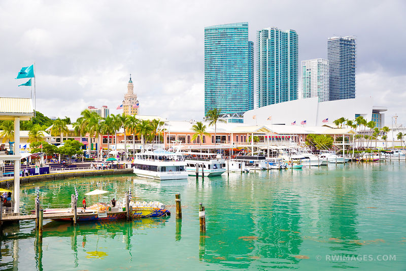 BAYSIDE WATERFRONT DOWNTOWN MIAMI FLORIDA