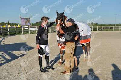 Samorin, Slovakia - 2017 August 13:  during European Jumping Championship for Children, Juniors, Young riders 2nd Round Individual Final for Juniors..(photo: 1clicphoto.com I Herve Bonnaud)