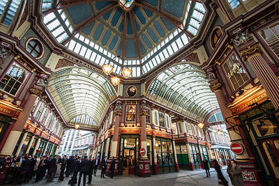 London Travel Photography - Leadenhall Market
