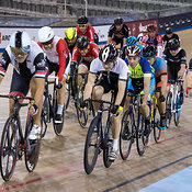 Master C/D Men Scratch Race. Ontario Track Championships, March 3, 2018