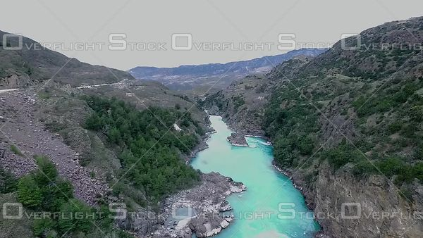 Fast River Patagonia Chile South America