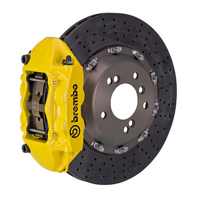 Brembo Performance P-Caliper (4-Piston) GT, GT-R, CCM-R, monobloc, 2-ps
