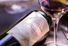 Beautiful lifestyle wine photography for Cliff Lede Winery in Napa Valley, California