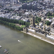 Westminister & Public Buildings aerial photos