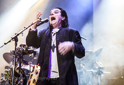 Steve Hogarth, vocalist with Marillion performing Brave on Saturday night of the UK Marillion weekend, 2013