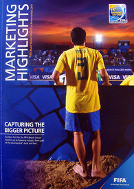 Marketing Highlights – FIFA Beach Soccer World Cup Ravenna/Italy 2011 – Front Cover.2954 – Steven Paston.