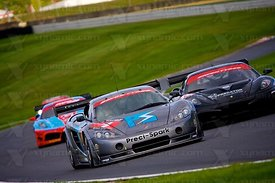 British GT Brands Hatch 2010