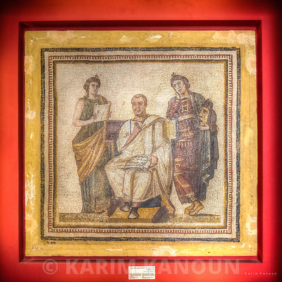 Traditional mosaic frame