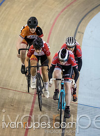 Junior Women Keirin Round 1 Ontario Track Provincial Championships, March 6, 2016