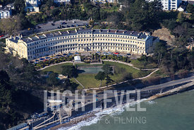 Aerial Photography Taken In and Around Torquay-The Osborne Hotel