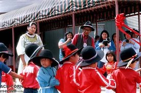 Choctaws, Children in traditional dress