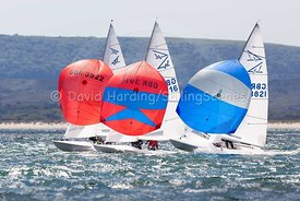 Flying Fifteens GBR3736, GBR3916, GBR3922 and GBR3821, 20170603185
