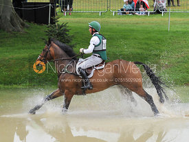 Clark Montgomery and LOUGHAN GLEN - Event Rider Masters CIC***