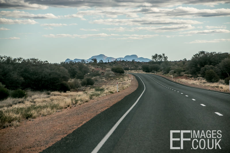 Road To Australia's Kata Tjuta