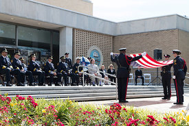 Norfolk Police Memorial Service at City Hall