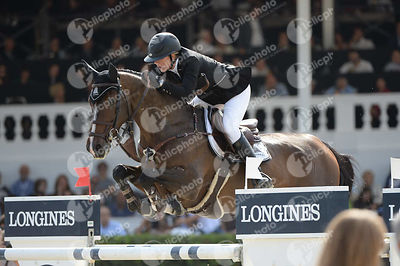 Gudrun PATTEET ,(BEL), SEA COAST PEBLES Z during Longines Cup of the City of Barcelona competition at CSIO5* Barcelona at Real Club de Polo, Barcelona - Spain