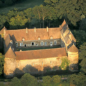 Treigny aerial photos