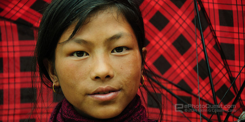 Young Black Hmong Woman