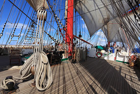 Four masted barque Sedov