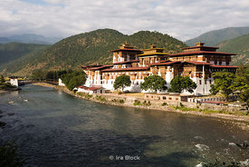 "The Punakha Dzong, also known as Pungtang Dechen Photrang Dzong (meaning ""the palace of great happiness or bliss"") in Punakha, Bhutan. .The Dzong is located at the confluence of the Pho Chhu (father) and Mo Chhu (mother) rivers in the Punakha–Wangdue valley."