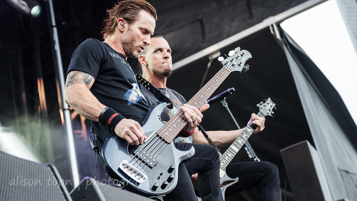 Alter Bridge Houston Open Air 2016 photos
