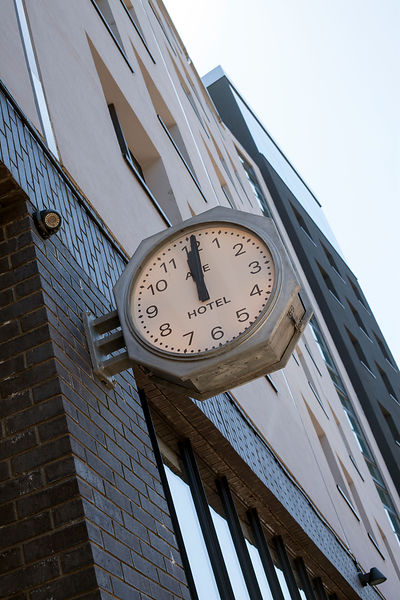 UK - London - The Ace Hotel clock