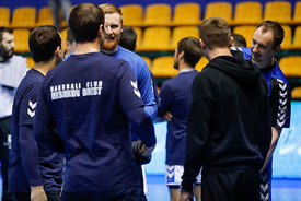 Team Meshkov during the Final Tournament - Final Four - SEHA - Gazprom league, Team training in Brest, Belarus, 06.04.2017, Mandatory Credit ©SEHA/ Stanko Gruden
