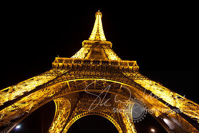 The Eiffel Tower at Night, Paris images