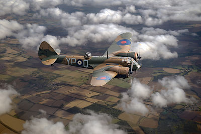 Bristol Blenheim in flight