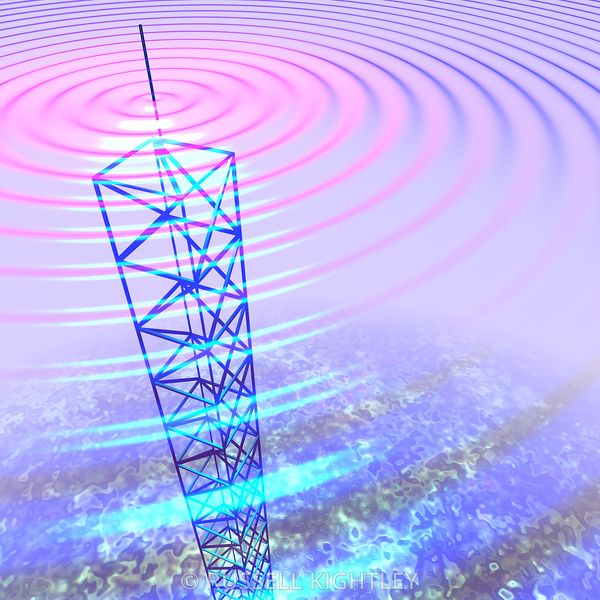 Radio waves #14 transmission tower