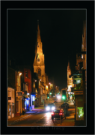 High East Street at Night, Dorchester