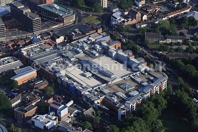 aerial photograph of Chapelfield Shopping Centre,  Merchants Hall Norwich NR1 1SH