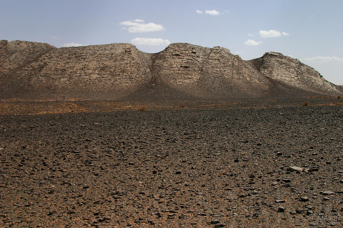 Mountain in the desert