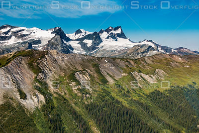 Sorcerer Mountains Selkirks BC Canada