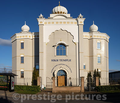 Sikh Temple in Warwickshire