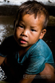 Young Hmong Boy