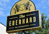 The Eberhard Restaurant in the Knox Henderson Neighborhood in Dallas, Texas