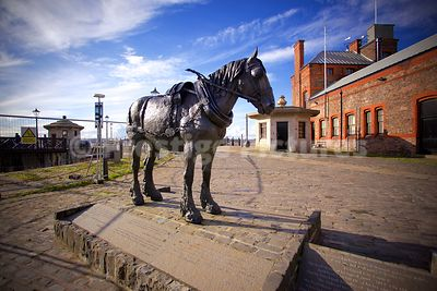 Monument to the Working Cart Horses in Liverpool