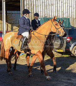 Jodie Lee and Jessica Saunders at the meet at Waterloo Lodge 19/11