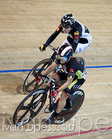 Women Sprint 1/2 Final. Canadian Track Championships, Mattamy National Cycling Centre, Milton, On, September 25, 2016