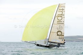 Be Light, HUN 18, 18ft Skiff, Euro Grand Prix Sandbanks 2016, 20160904705
