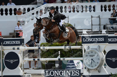 Marcus EHNING ,(GER), COMME IL FAUT 5 during Longines Cup of the City of Barcelona competition at CSIO5* Barcelona at Real Club de Polo, Barcelona - Spain