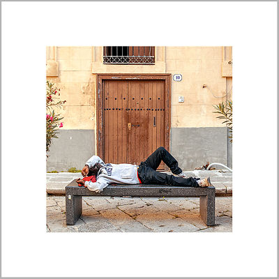 The Dream Bench - Palermo, Sicily (Italy)