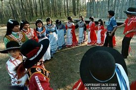Choctaws, Children traditional dance