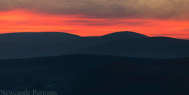Cheviot Sunset
