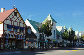 Village d'inspiration Danoise Solvang Californie USA 10/12