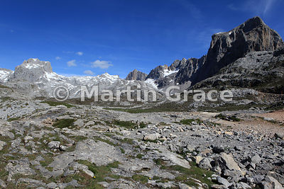 Picos de Europa from El Cable Mirador, Cantabria, Spain