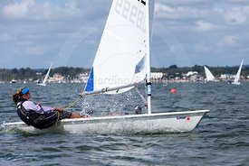 Laser Masters Autumn Qualifier at Parkstone Yacht Club, September 2016