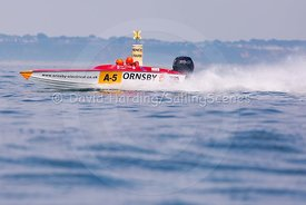 Ornsby Electrical, A-5, Fortitudo Poole Bay 100 Offshore Powerboat Race, June 2018, 20180610287