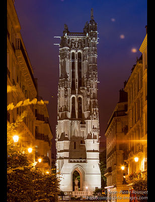Paris, Saint-Jacques Tower